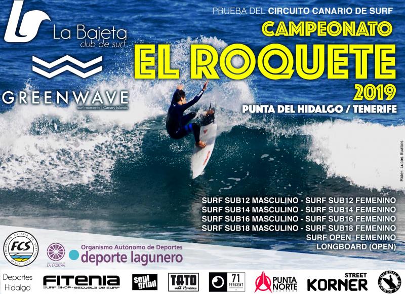 CAMPEONATO DE SURF EL ROQUETE - COPIA - Inscríbete