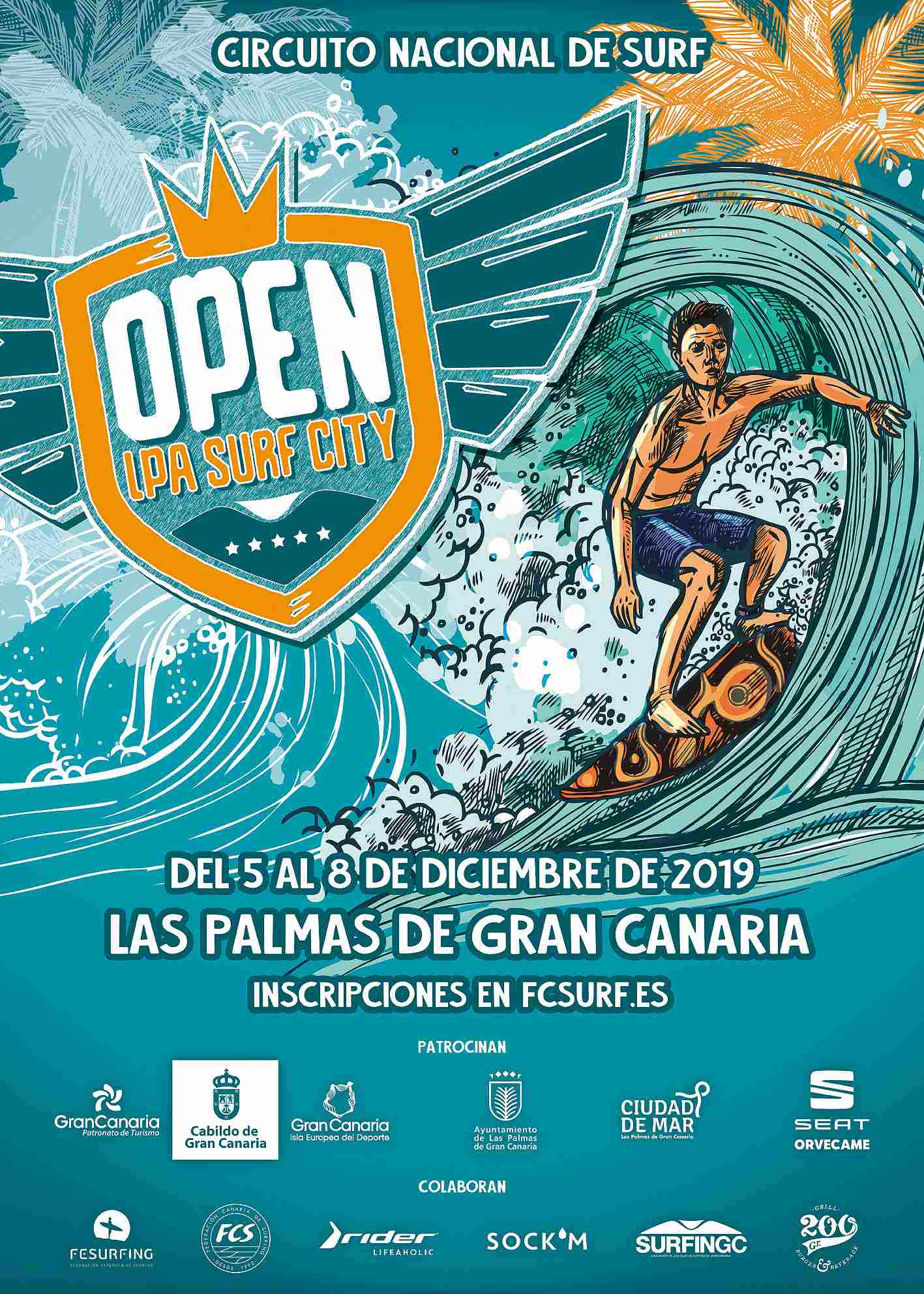 OPEN LPA SURF CITY - Inscríbete