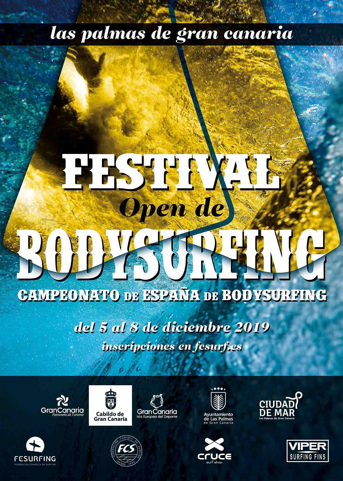 CAMPEONATO DE ESPAÑA DE BODYSURF - NO FEDERADOS - Inscríbete