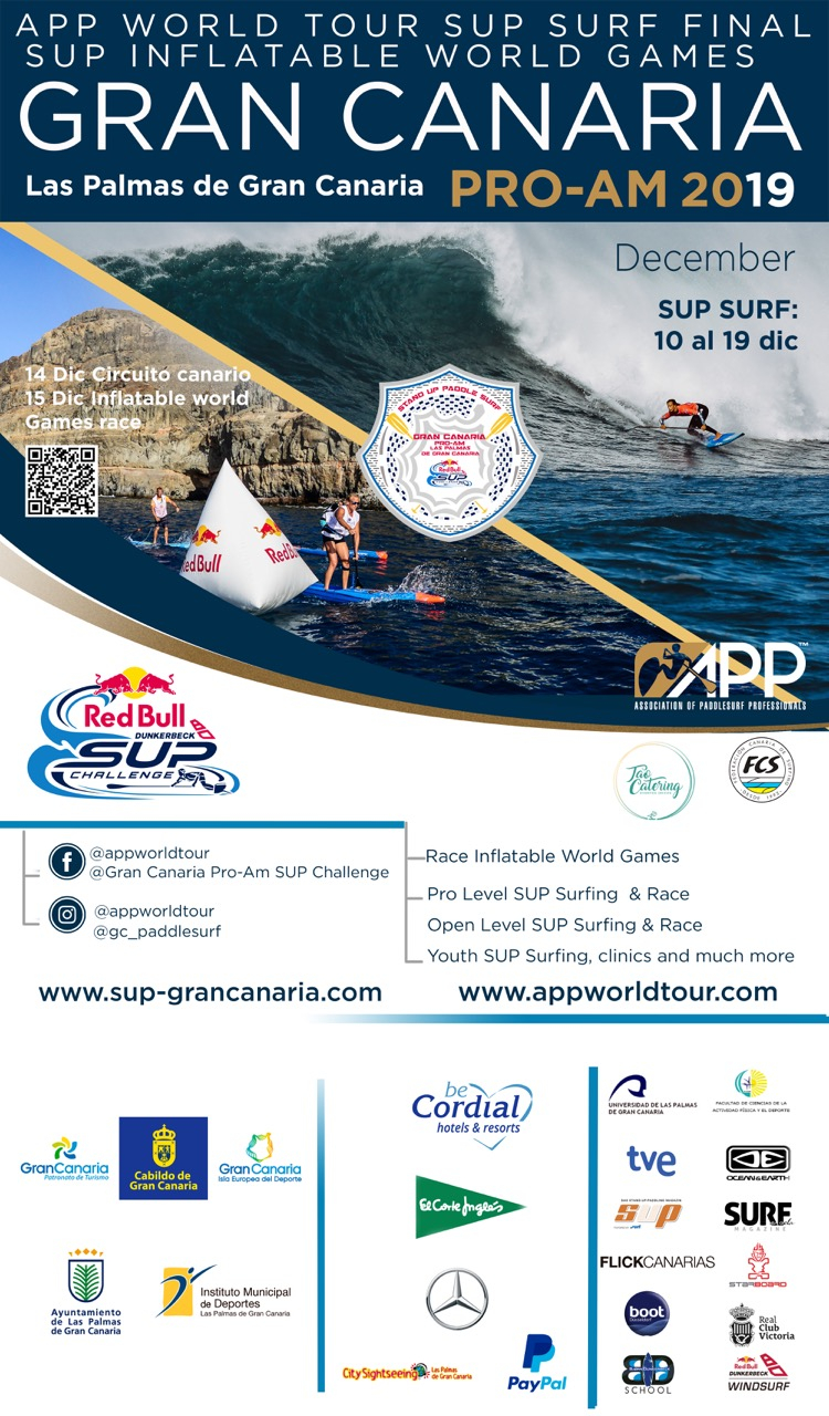 GRAN CANARIA PRO/AM STAND UP PADDLE RACE - Inscríbete