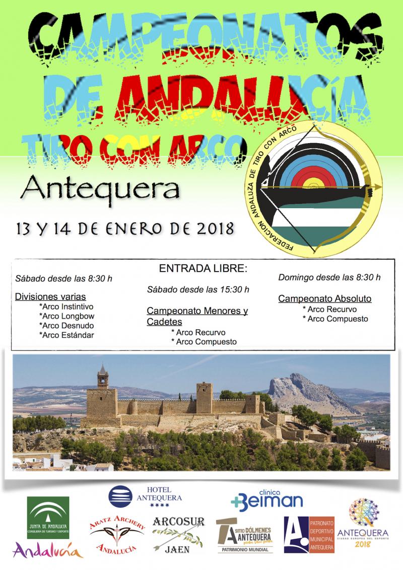 XXIV CAMPEONATO DE ANDALUCIA ABSOLUTO,  JUNIOR , VETERANOS Y ARCO ADAPTADO DE SALA  - Inscríbete