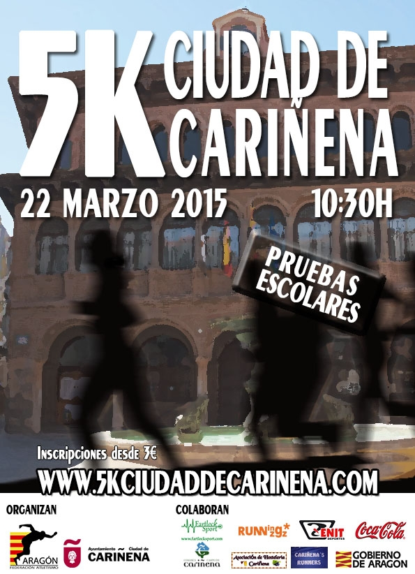 5K CIUDAD DE CARIÑENA - Inscríbete