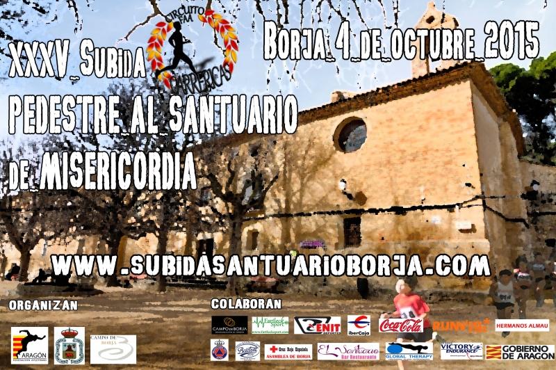 XXXV SUBIDA AL SANTUARIO DE BORJA - Inscríbete