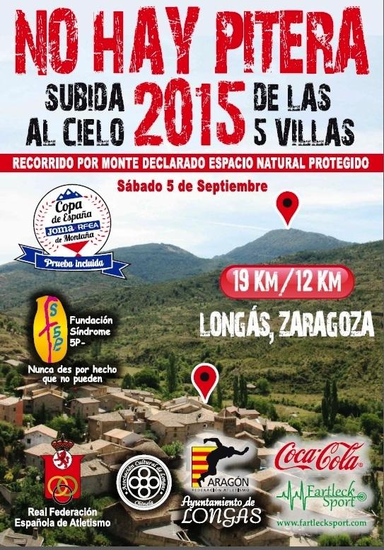 NO HAY PITERA LONGAS SUBIDA AL CIELO DE LAS CINCO VILLAS 2015 - Inscríbete