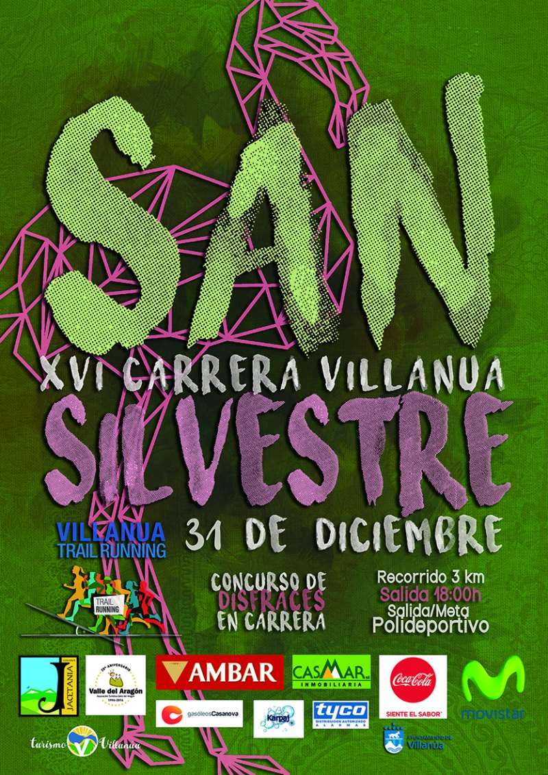 16ª SAN SILVESTRE DE VILLANÚA - Inscríbete
