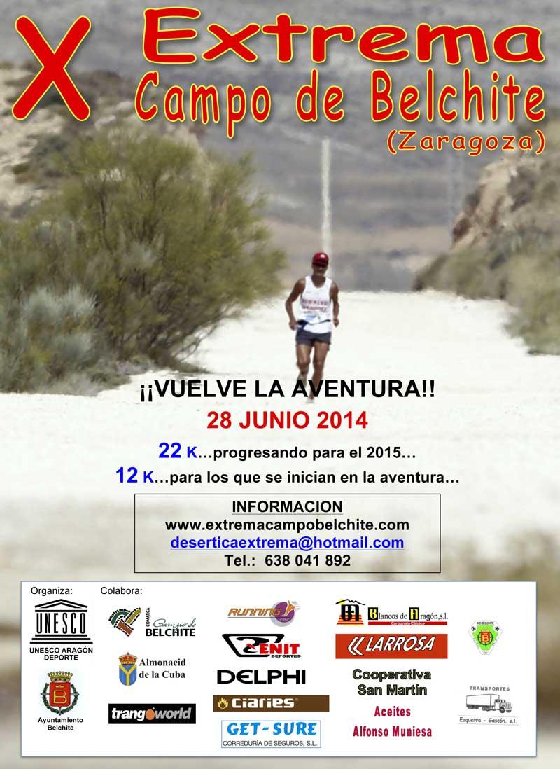 X EXTREMA CAMPO DE BELCHITE - Inscríbete