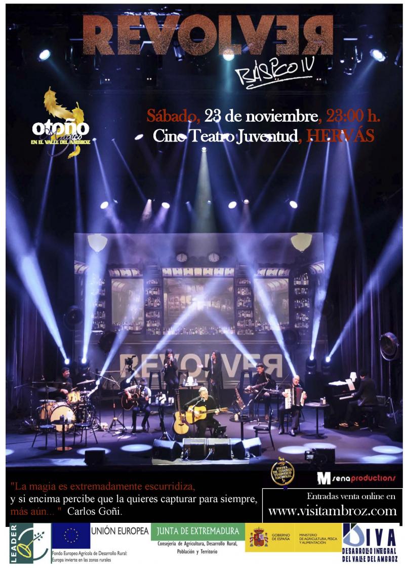 CONCIERTO REVOLVER (GIRA BASICO IV TOUR) - Inscríbete
