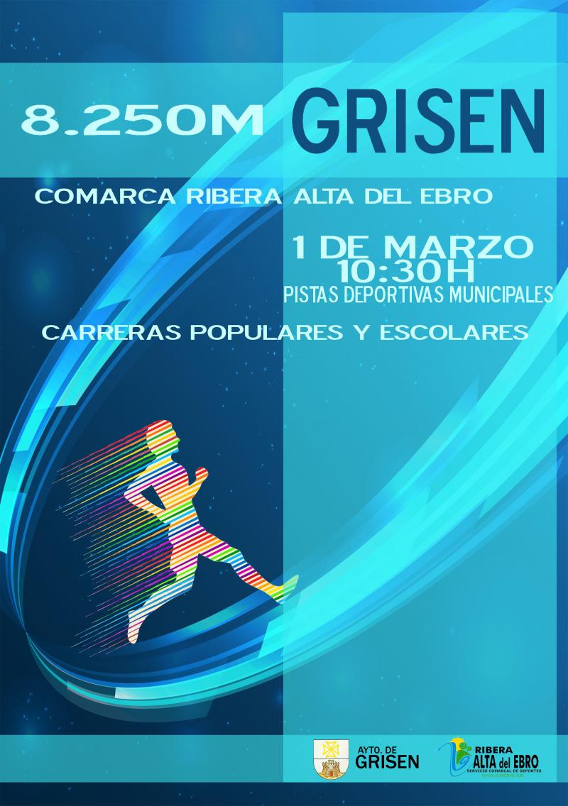 II CARRERA DE GRISEN - Inscríbete