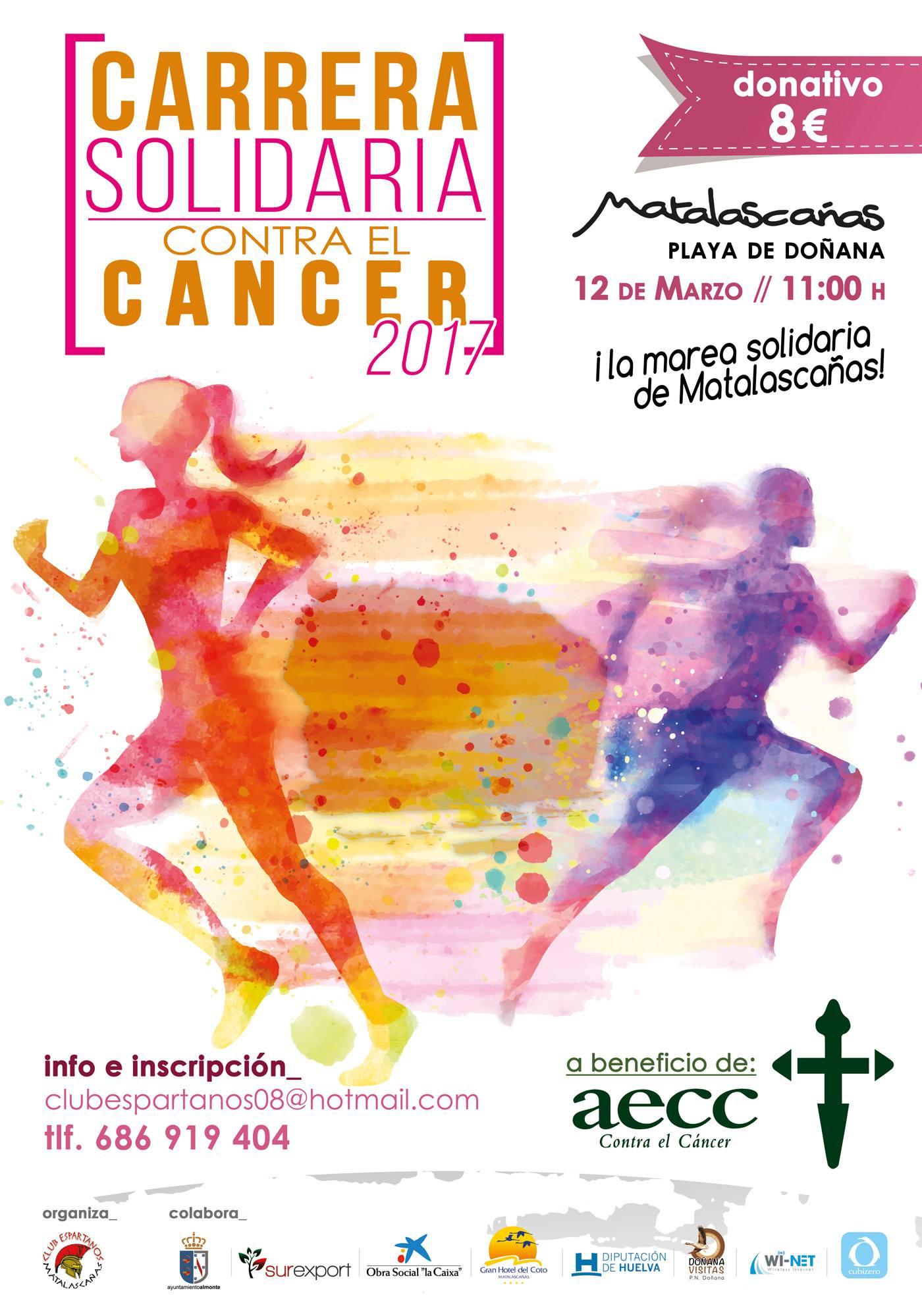 II MAREA SOLIDARIA CONTRA EL CANCER, MATALASCAÑAS - Inscríbete