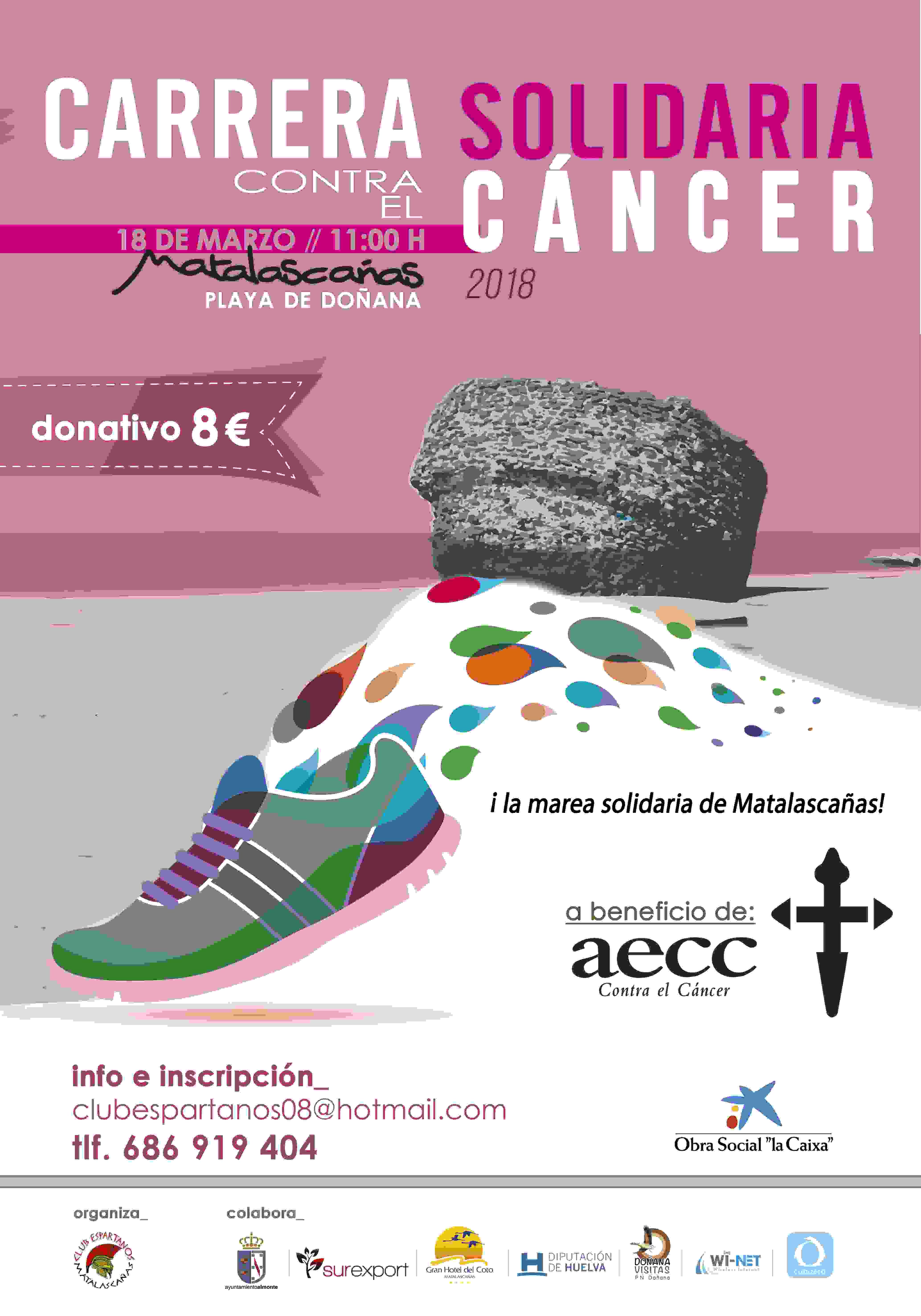 III CARRERA / CAMINATA SOLIDARIA CONTRA EL CANCER. - Inscríbete