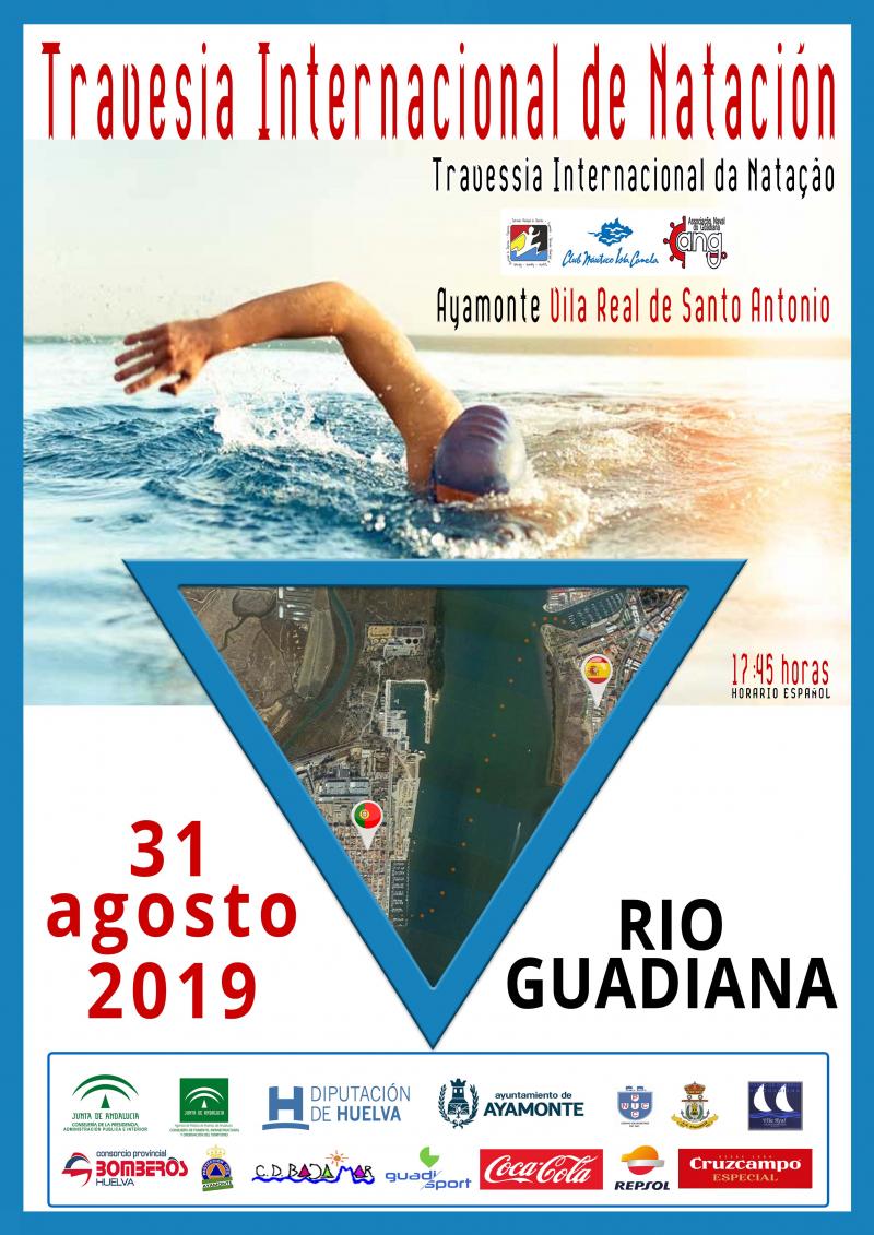 TRAVESÍA INTERNACIONAL DE NATACION  RIO GUADIANA  - Inscríbete
