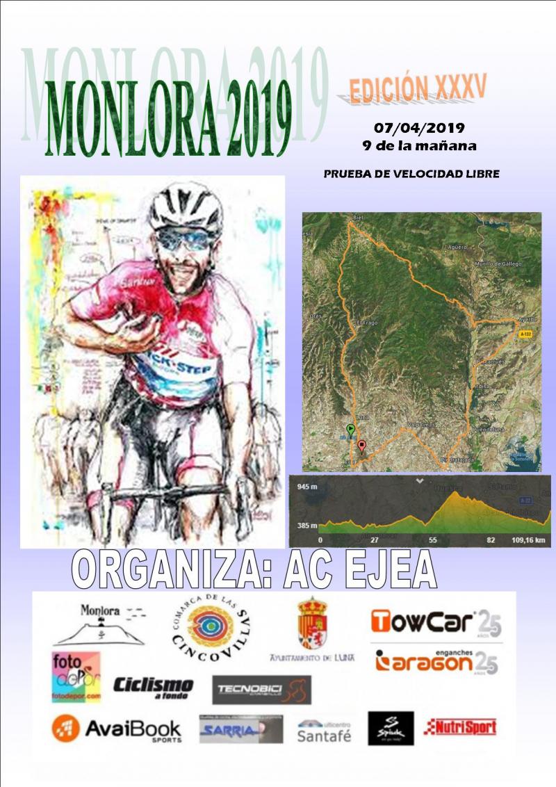 XXXV EDICION MONLORA - PRUEBA DE VELOCIDAD LIBRE - Inscríbete