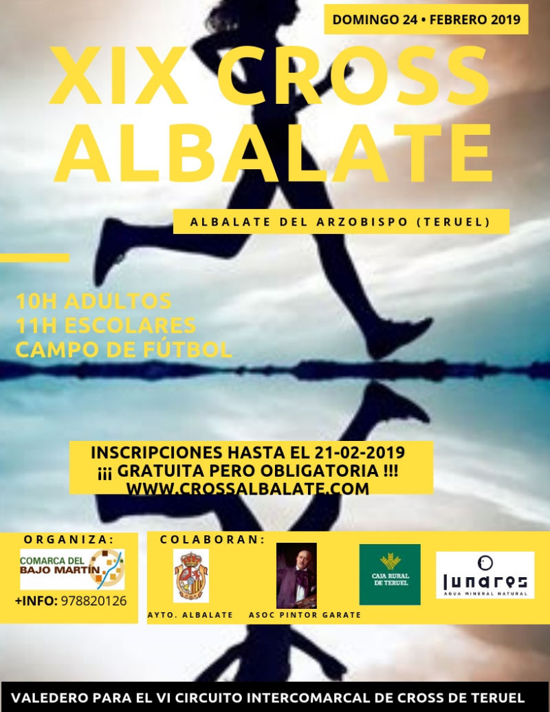 XIX CROSS DE ALBALATE   - Inscríbete