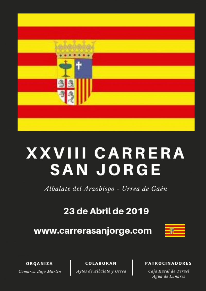 XXVIII CARRERA  POPULAR DE SAN JORGE  - Inscríbete