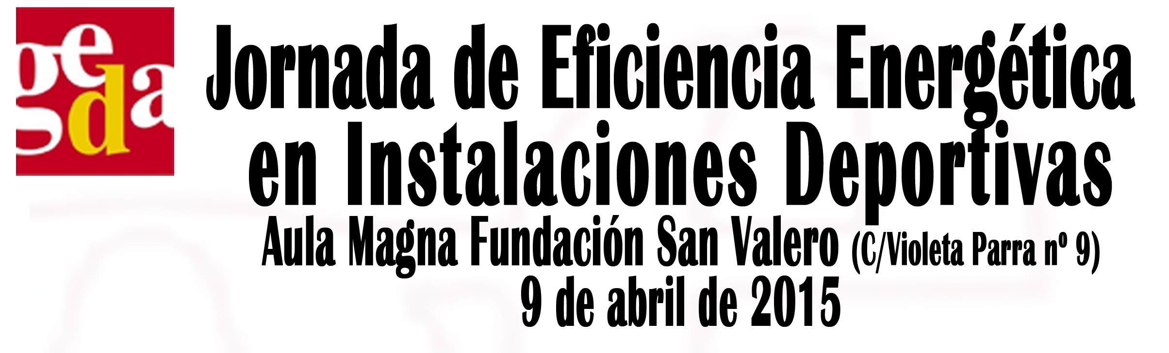 JORNADA DE EFICIENCIA ENERGÉTICA EN INSTALACIONES DEPORTIVAS - Inscríbete
