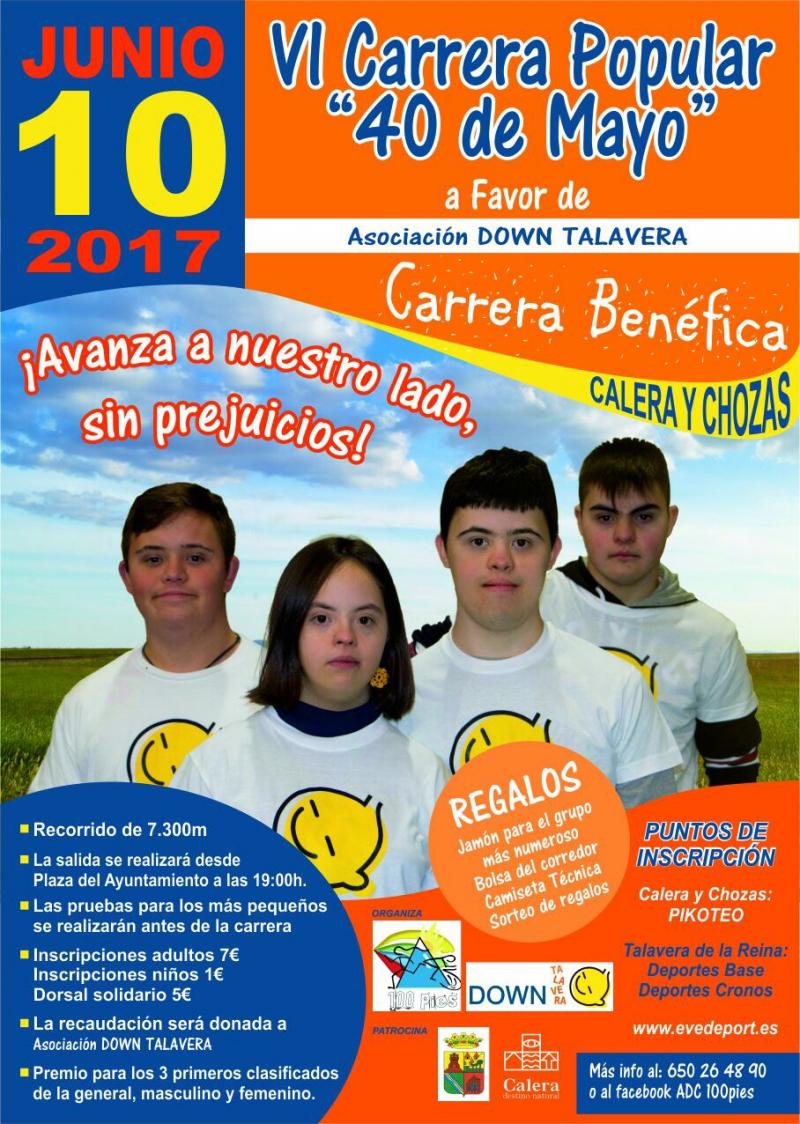 VI CARRERA 40 DE MAYO - Inscríbete