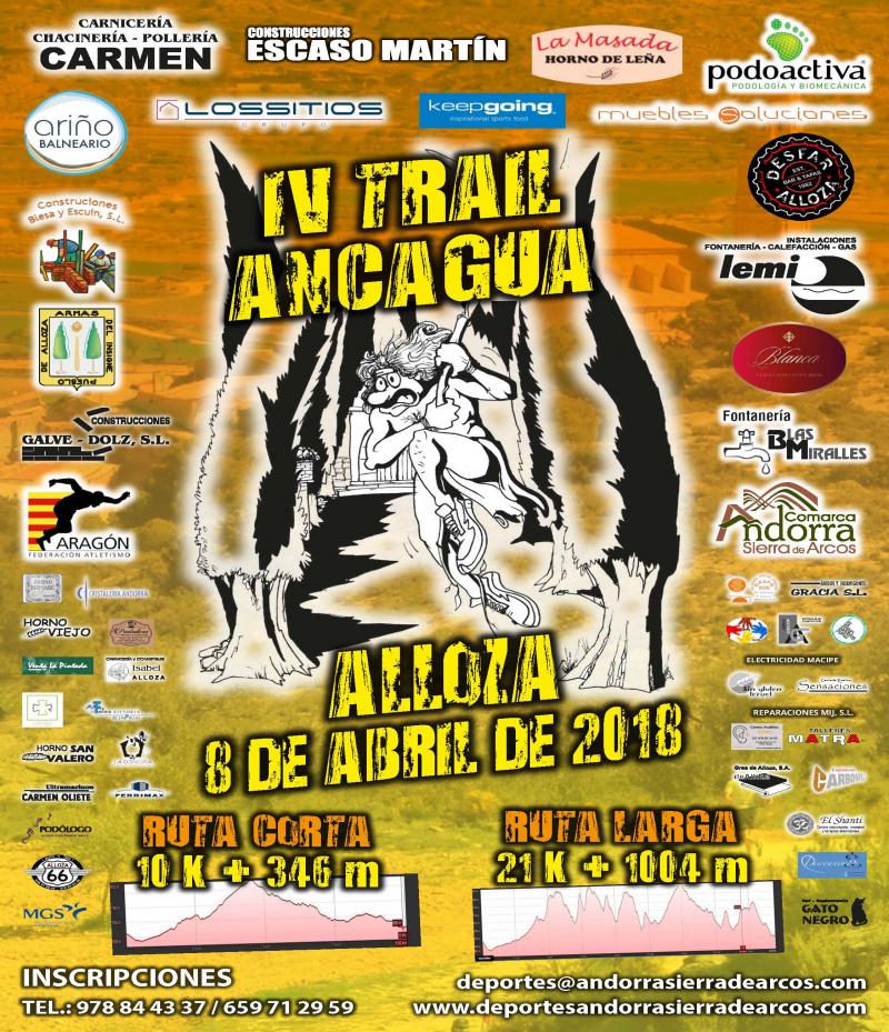 4º TRAIL ANCAGUA DE MONTAÑA ALLOZA 2018 - Inscríbete