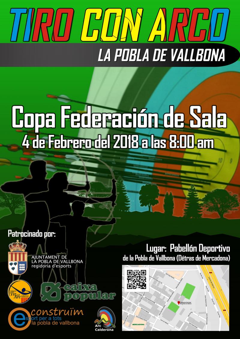 VI COPA FEDERACIÓN VALENCIANA DE TIRO CON ARCO, SALA - Inscríbete