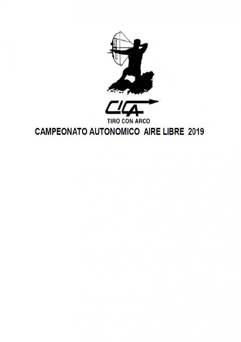 CAMPEONATO COMUNIDAD VALENCIANA EN AIRE LIBRE 2019 - Inscríbete