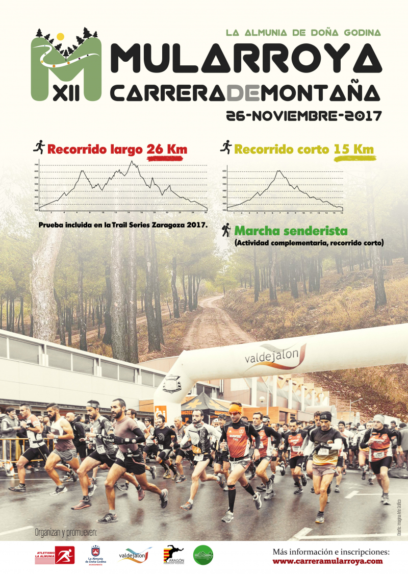 12ª CARRERA DE MONTAÑA MULARROYA - Inscríbete