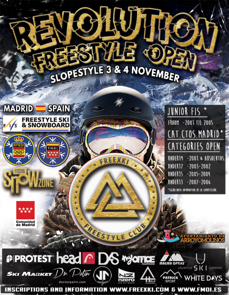 REVOLUTION FREESTYLE OPEN - 2018 - Inscríbete