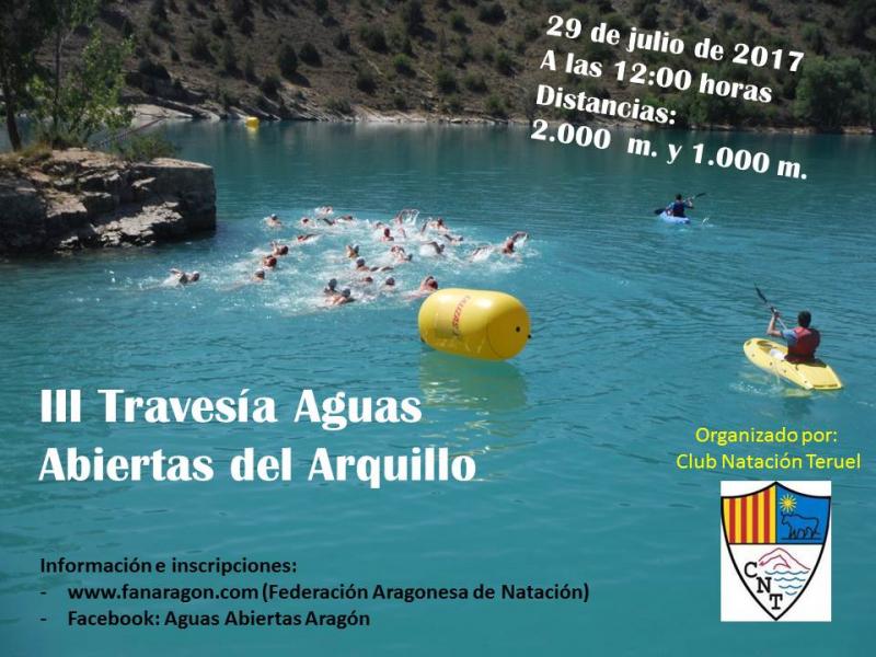 III TRAVESÍA AGUAS ABIERTAS EL ARQUILLO  - Inscríbete