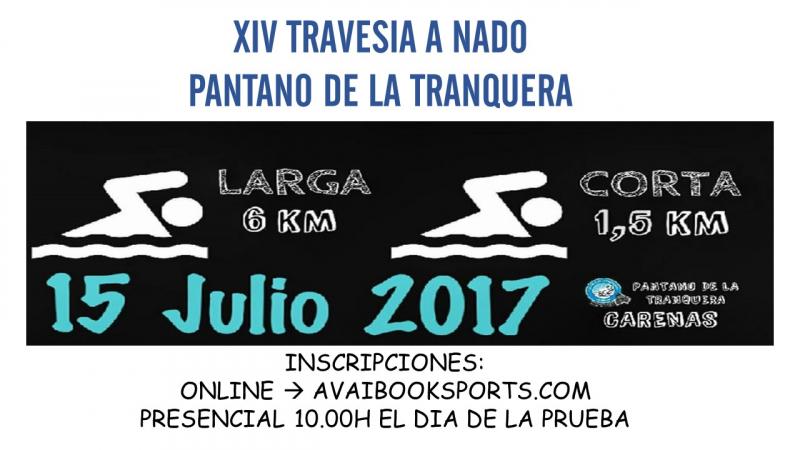 XIV TRAVESIA A NADO PANTANO DE LA TRANQUERA CARENAS  - Inscríbete