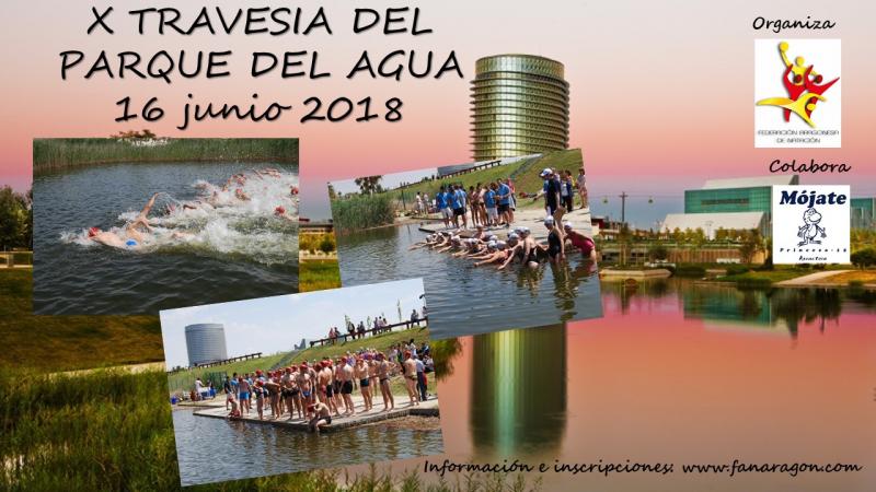 X TRAVESIA PARQUE DEL AGUA 2018 - Inscríbete