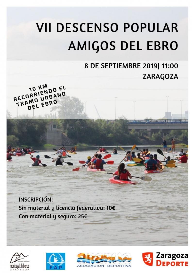 VII DESCENSO AMIGOS DEL EBRO - Inscríbete