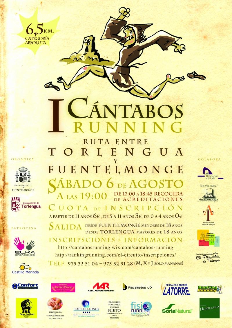 I CARRERA CÁNTABOS RUNNING - Inscríbete