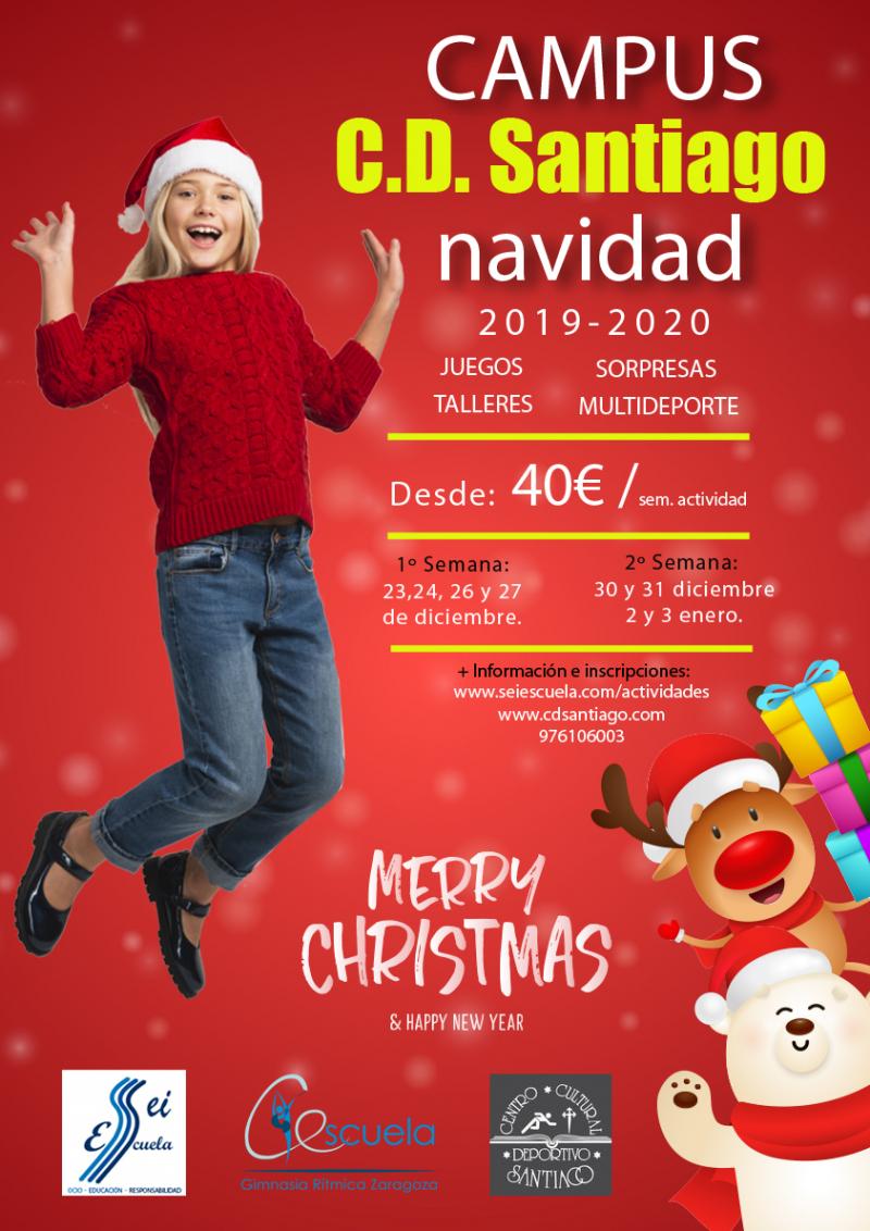 CAMPUS DE NAVIDAD C.D. SANTIAGO 2019-2020 - Inscríbete