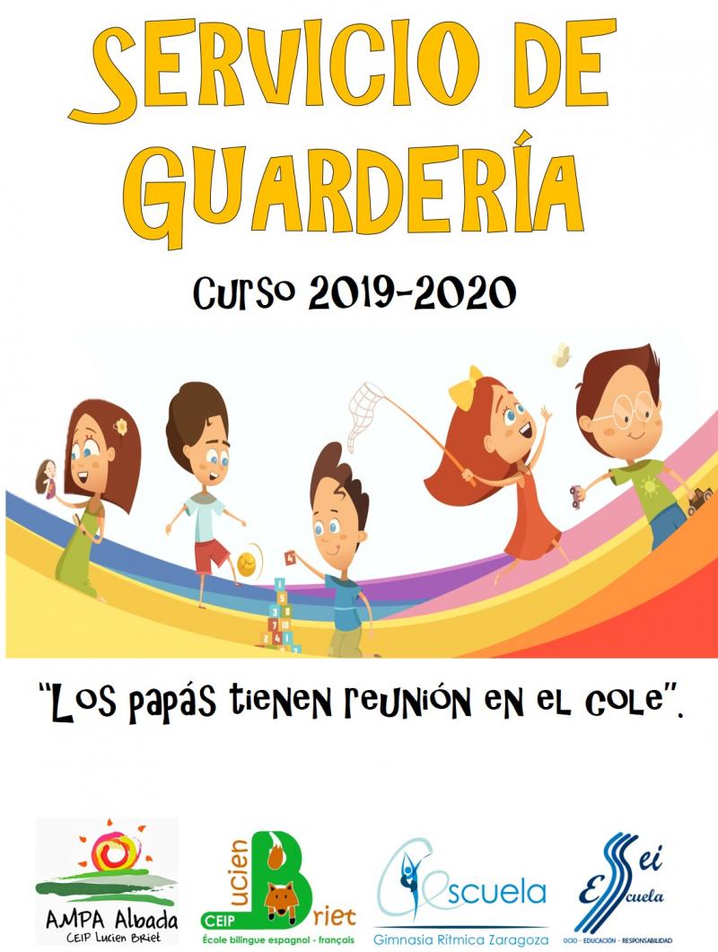 GUARDERÍAS LUCIEN BRIET 2019-2020 - Inscríbete