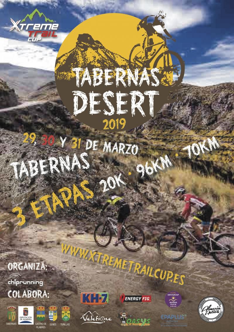 TABERNAS DESERT 2019 - 1 ETAPA - Inscríbete