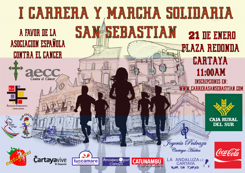 I CARRERA Y MARCHA SOLIDARIA SAN SEBASTIAN - Inscríbete