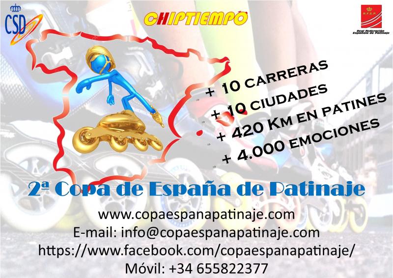 COPA DE ESPAÑA DE PATINAJE - Inscríbete