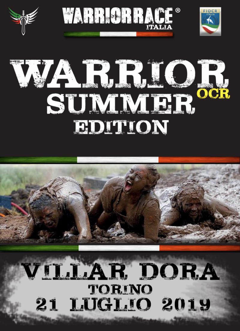 WARRIOR RACE SUMMER EDITION 2019  - Iscriviti