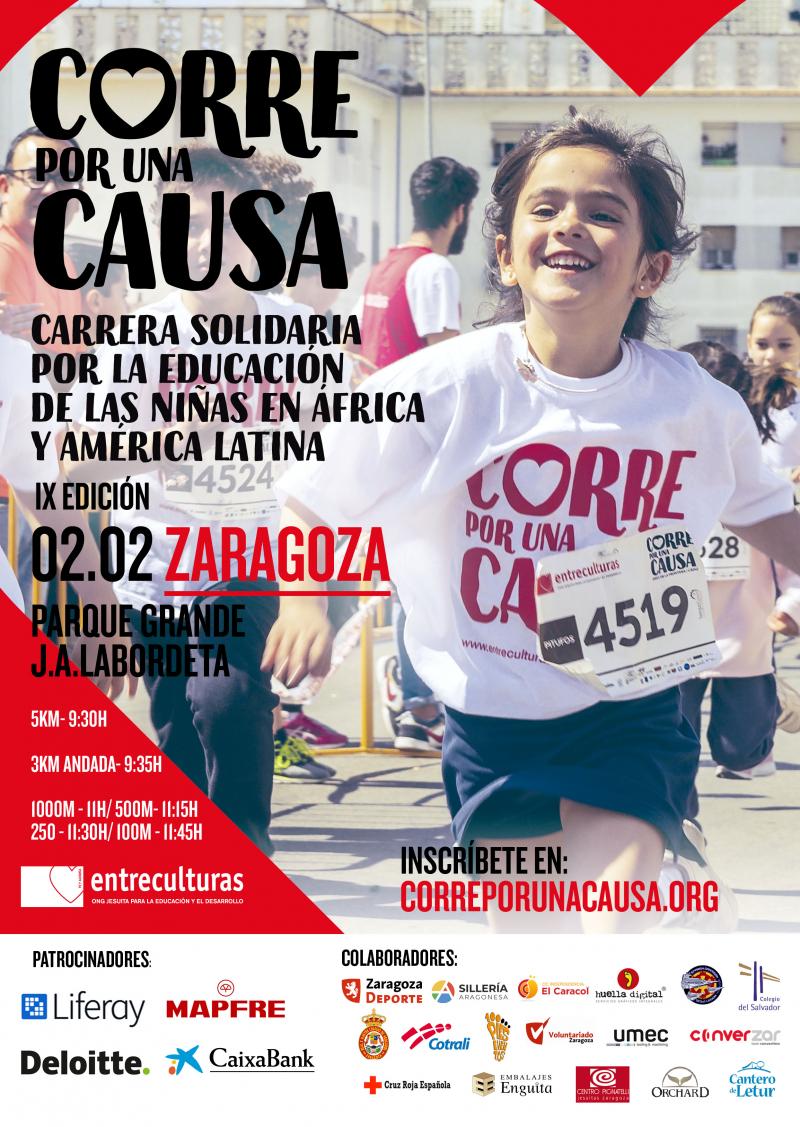 CORRE POR UNA CAUSA 2020: ZARAGOZA  - Inscríbete