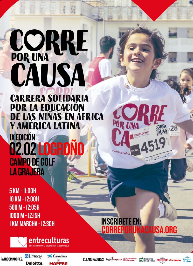 CORRE POR UNA CAUSA 2020: LOGROÑO  - Inscríbete