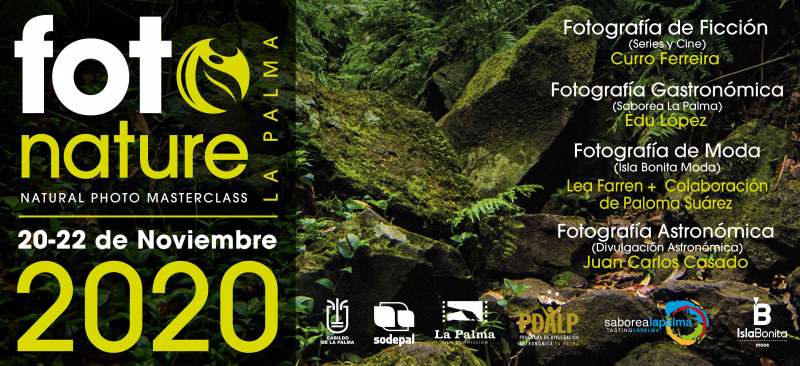 FOTONATURE LA PALMA 2020 - NATURAL PHOTO MASTERCLASS - Inscríbete