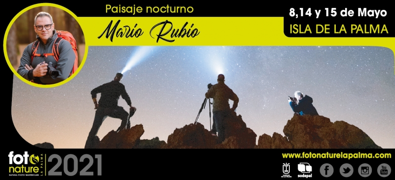 FOTONATURE LA PALMA 2021  - Inscríbete