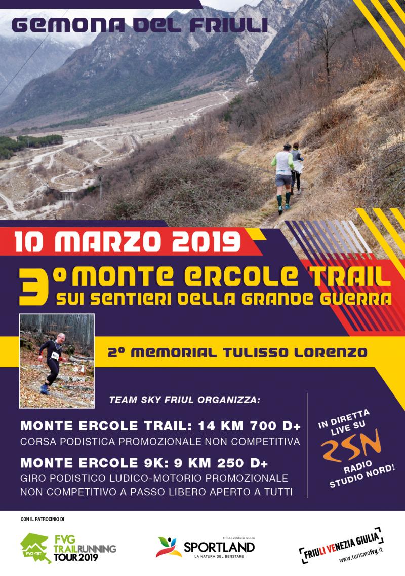 3° MONTE ERCOLE TRAIL - 2° MEMORIAL TULISSO LORENZO  - Iscriviti