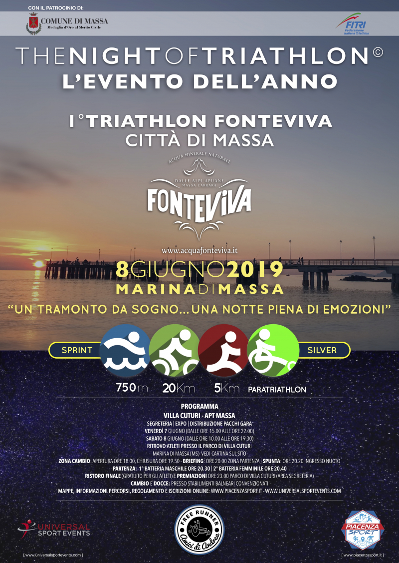 THE NIGHT OF TRIATHLON - Iscriviti