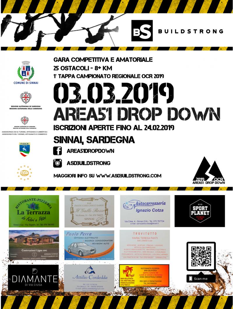 AREA 51 DROP DOWN - Iscriviti
