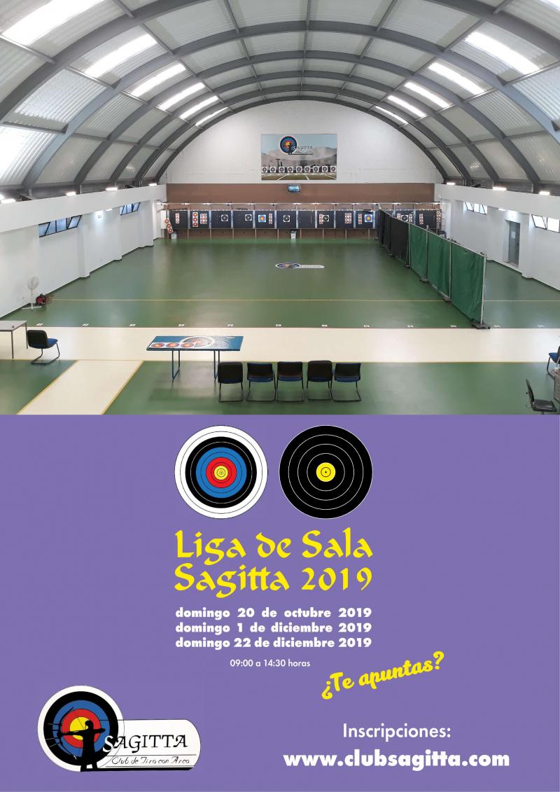 LIGA DE SALA 2019 3ª TIRADA   - Inscríbete