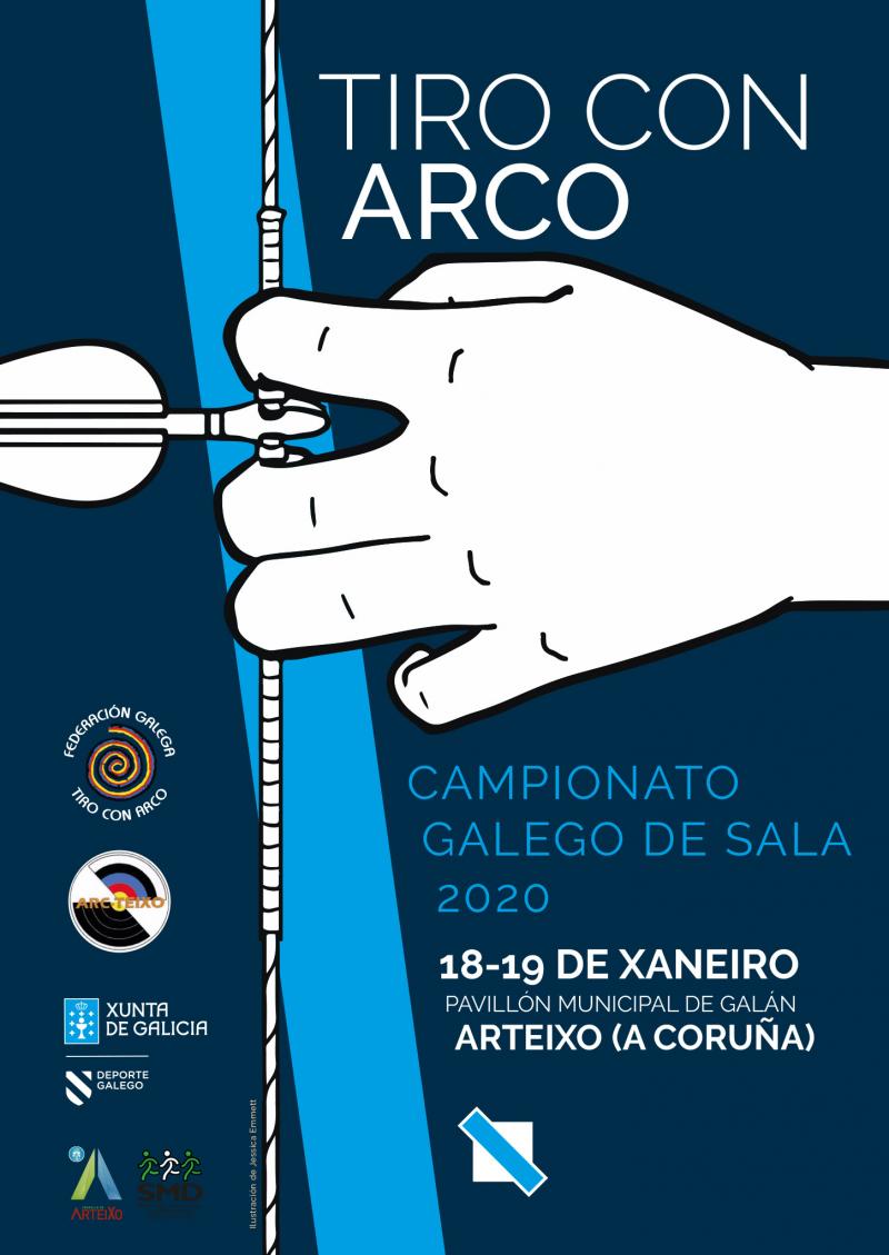 CAMPIONATO GALEGO DE SALA ARCO RECURVO, ARCO COMPOSTO ESQUÍO, BENXAMÍN, ALEVÍN E INFANTIL - Inscríbete