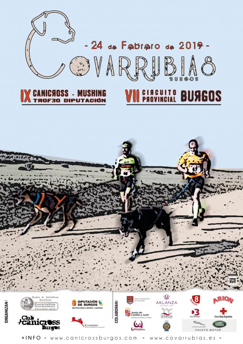 IX CANICROSS-MUSHING VILLA DE COVARRUBIAS. VII CIRCUITO PROVINCIAL TROFEO DIPUTACIÓN DE BURGOS - Inscríbete