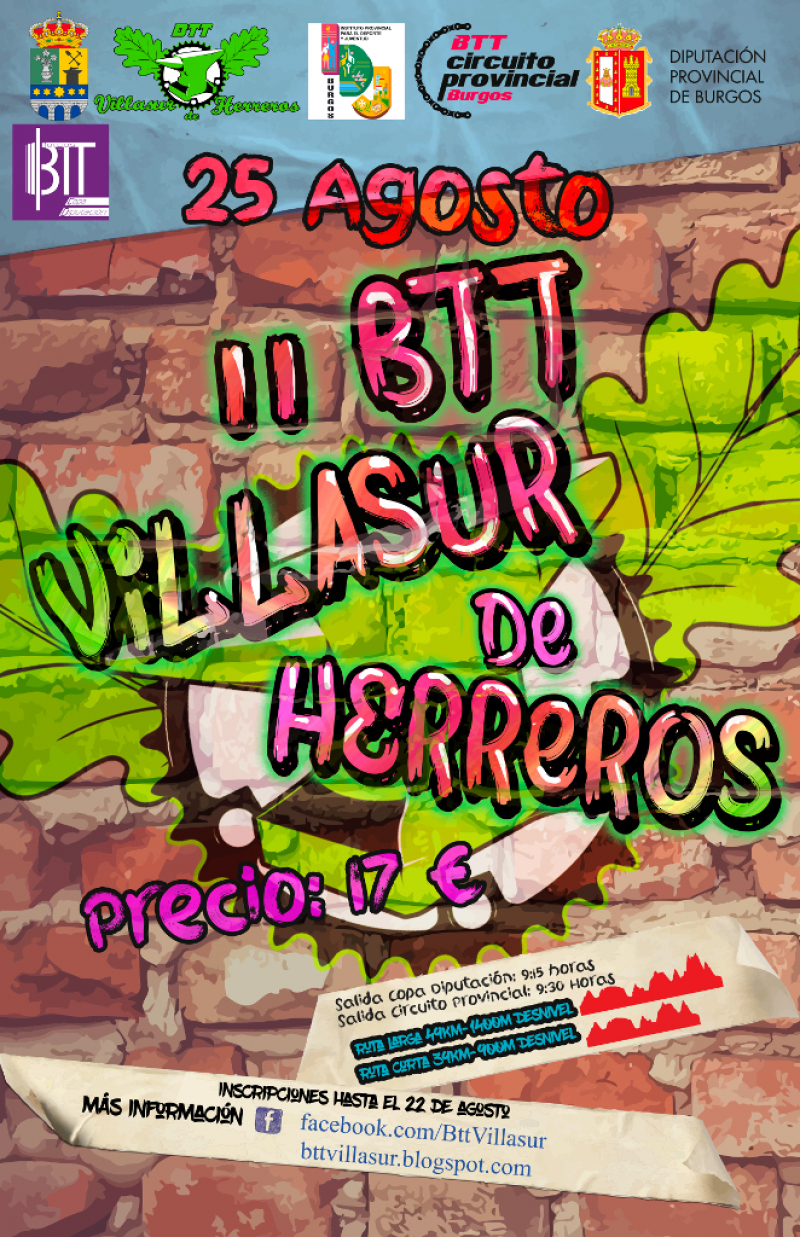 II BTT VILLASUR DE HERREROS - Inscríbete