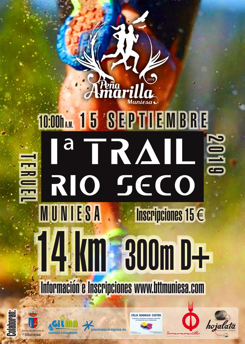 I TRAIL RIO SECO MUNIESA - Inscríbete