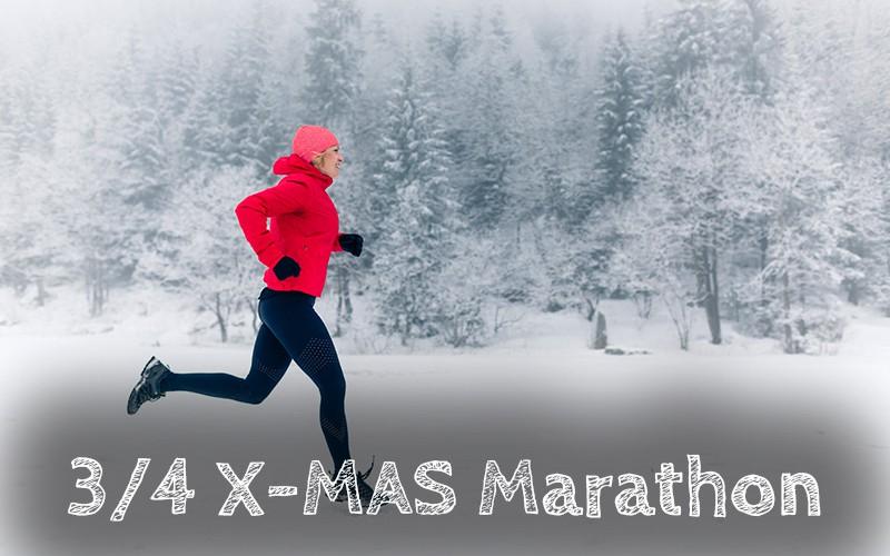 3/4 X-MAS MARATHON - Zur Anmeldung