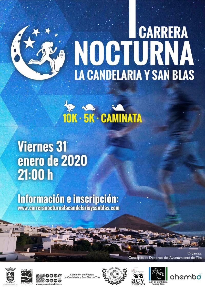 I CARRERA NOCTURNA LA CANDELARIA Y SAN BLAS - Inscríbete